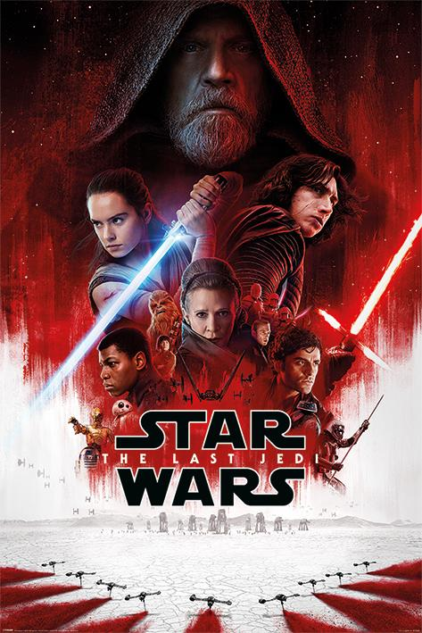 STAR WARS THE LAST JEDI - Poster 61X91 - One Sheet_1