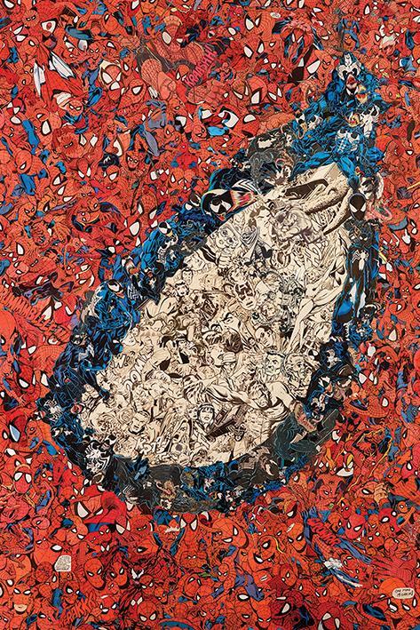 MARVEL - Poster 61X91 - Spider-Man Eye Montage_1