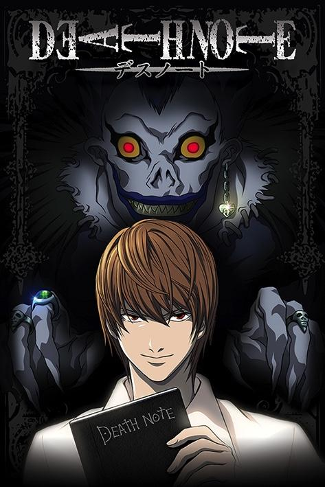 DEATH NOTE - Poster 61X91 - From the Shadows