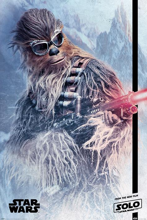 STAR WARS - Poster 61X91 - Chewie Blaster