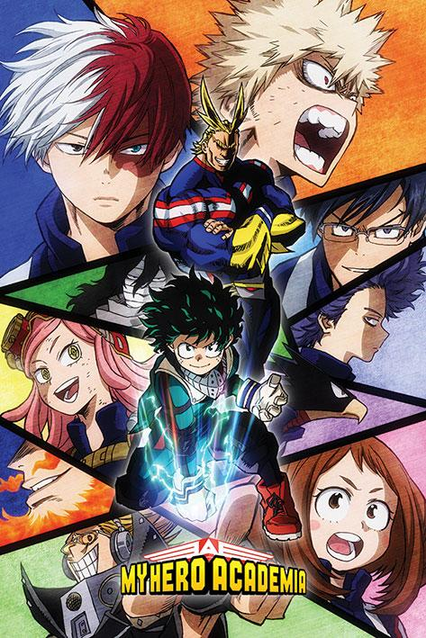 MY HERO ACADEMIA - Poster 61x91 - Characters Mosaic