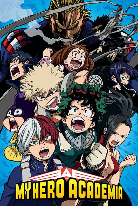 MY HERO ACADEMIA - Poster 61x91 - Cobalt Blast Group