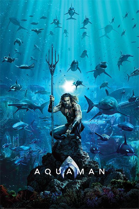 AQUAMAN - Poster 61X91 - Teaser