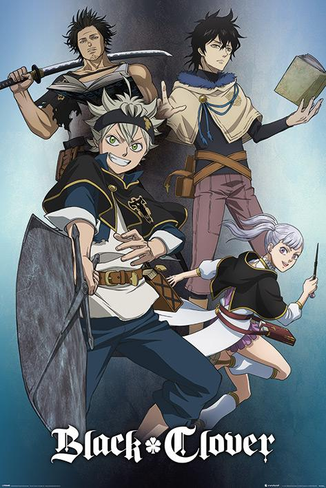 BLACK CLOVER - Poster 61X91 - Magic