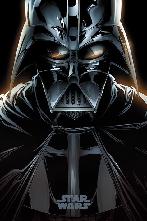 STAR WARS - Poster 61X91 - Vader Comic_1
