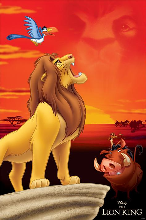 DISNEY - Poster 61X91 - The Lion King : Pride Rock