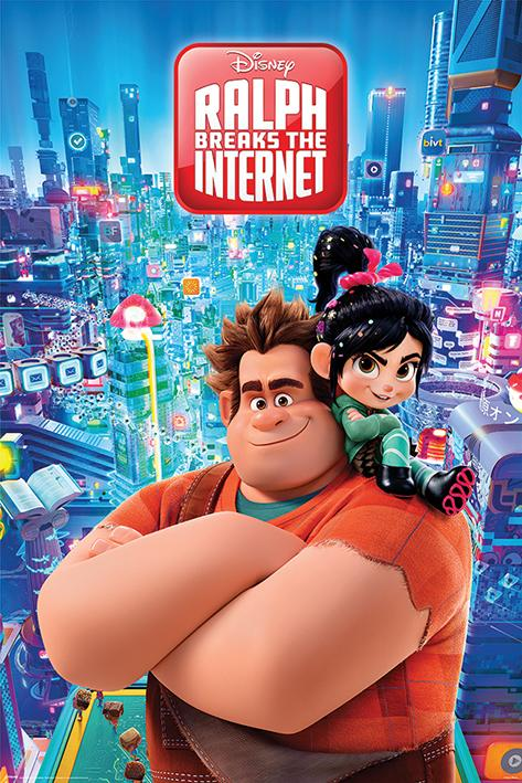 DISNEY - Poster 61X91 - Ralph Breaks the Internet