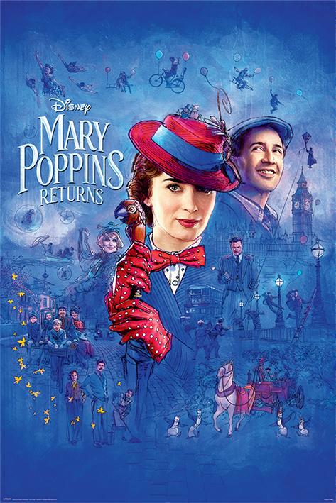 DISNEY - Poster 61X91 - Mary Poppins Return