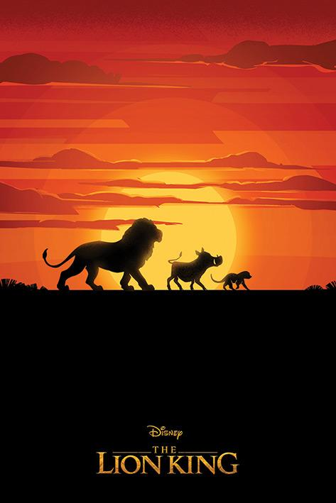 DISNEY - Poster 61X91 - The Lion King : Long Live the King
