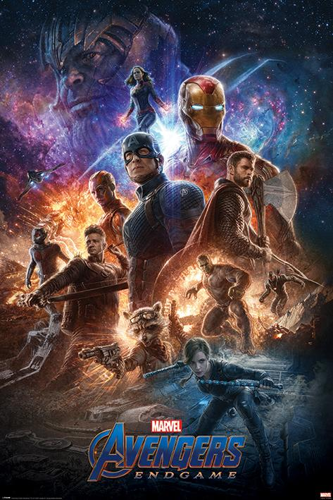 AVENGERS ENDGAME - Poster 61X91 - From the Ashes_1
