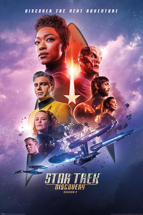 STAR TREK DISCOVERY - Poster 61X91 - Next Adventure