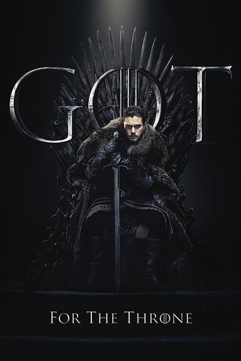 GAME OF THRONES - Poster 61X91 - Jon for the Throne