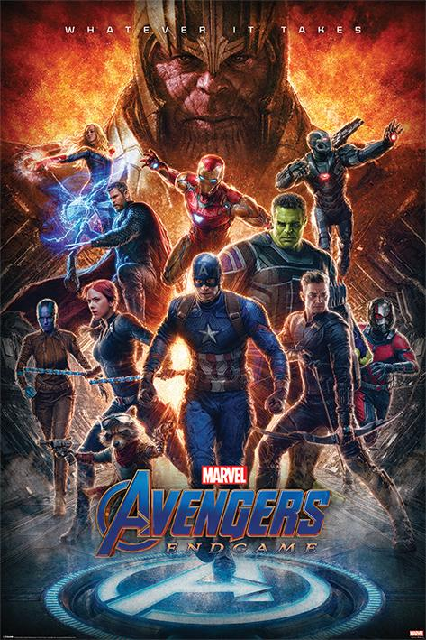 AVENGERS ENDGAME - Whatever it Takes - Poster 61x91cm