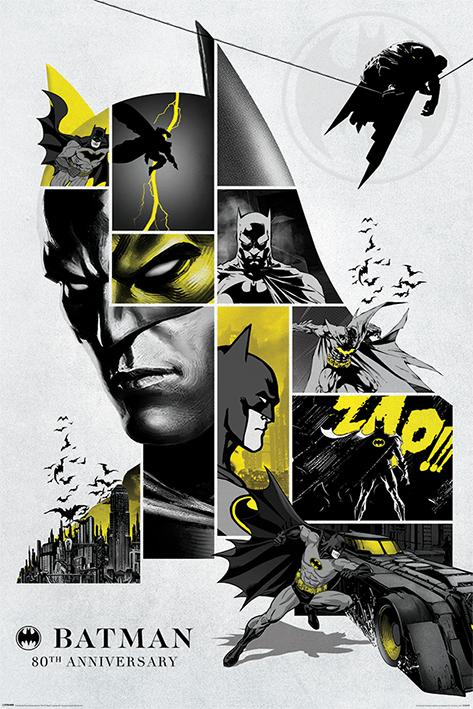 BATMAN - Poster 61X91 - 80th Anniversary