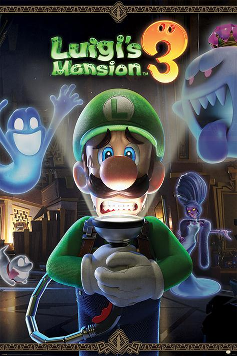 NINTENDO - Poster 61X91 - Luigi's Mansion 3 - You're in for a Fight
