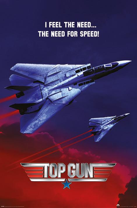 TOP GUN - The Need For Speed - Poster 61x91cm