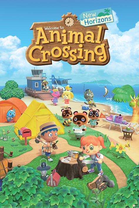 ANIMAL CROSSING - New Horizons - Poster 61x91cm