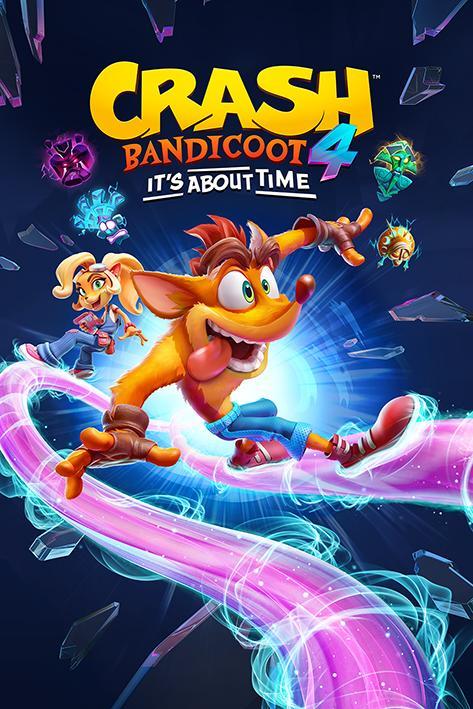 CRASH BANDICOOT 4 - It's About Time - Poster 61x91cm