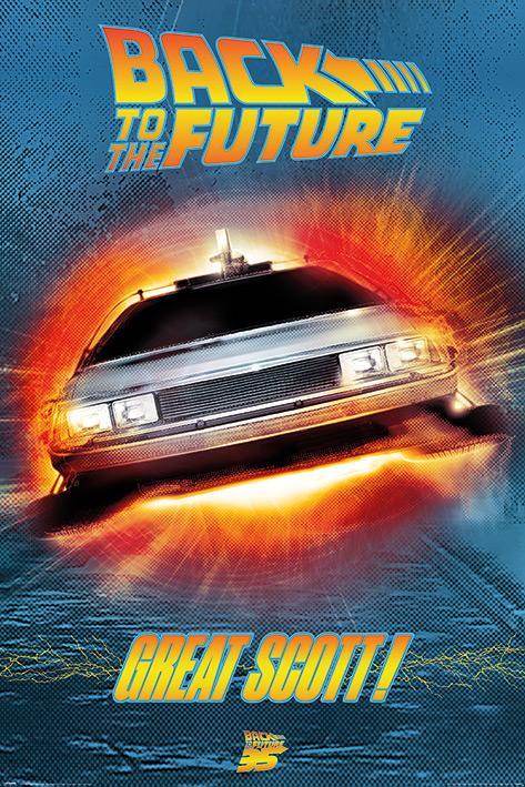 RETOUR VERS LE FUTUR - Great Scott! - Poster 61x91cm