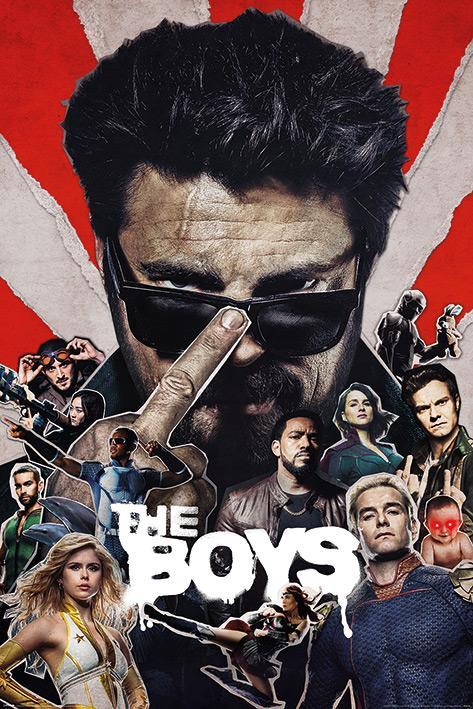 THE BOYS - Sunburst - Poster 61x91cm