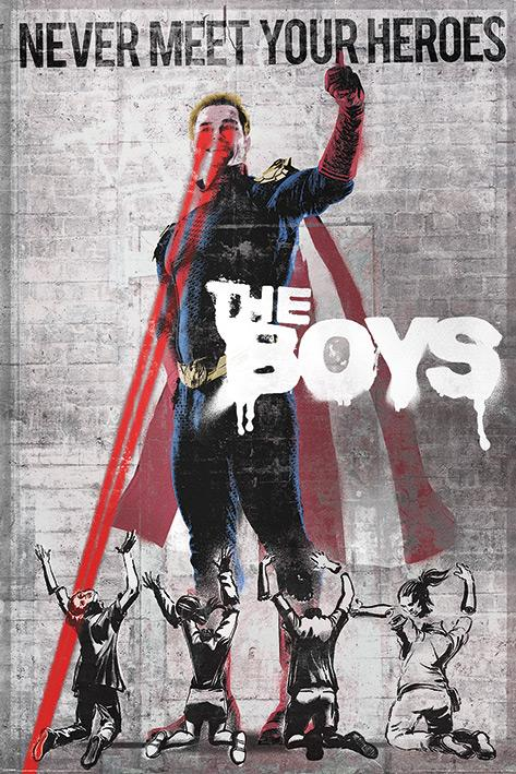 THE BOYS - Homelander Stencil - Poster 61x91cm