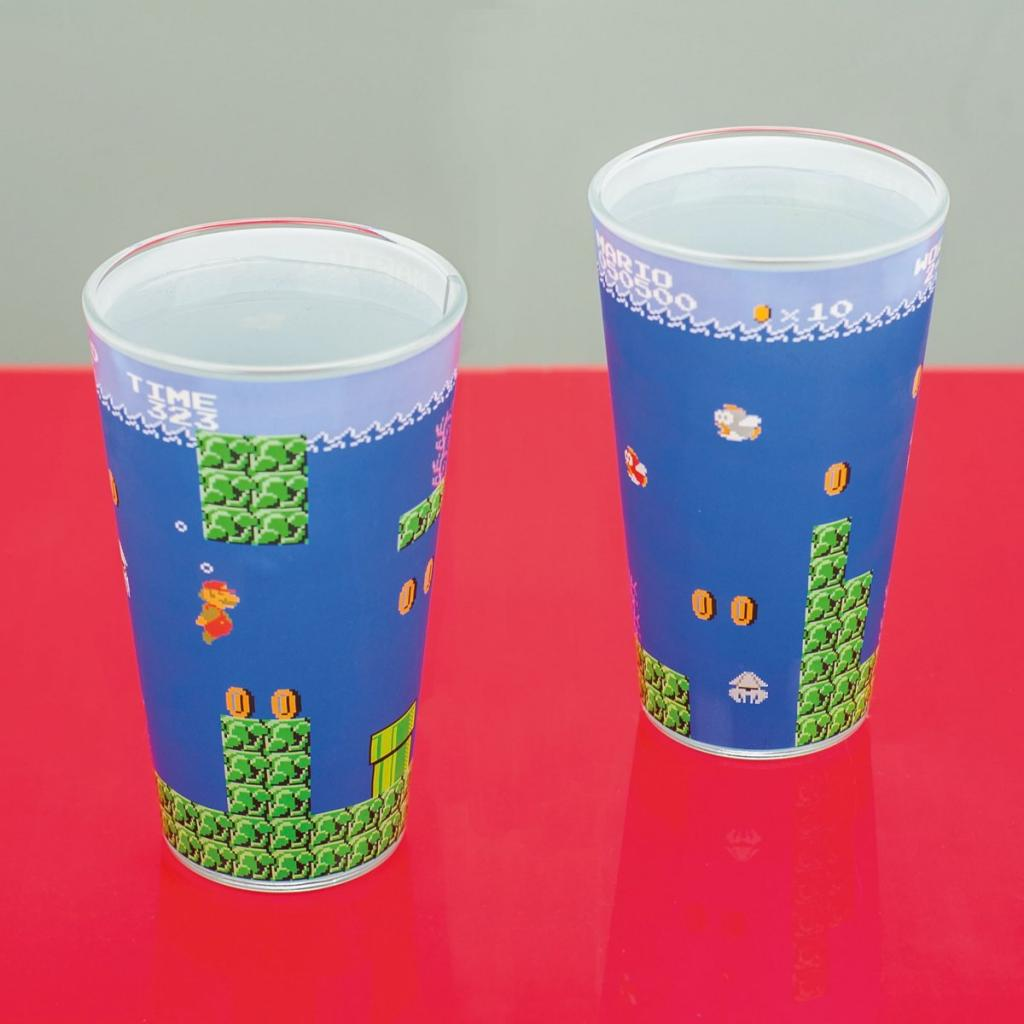 NINTENDO - Super Mario Bros Glass