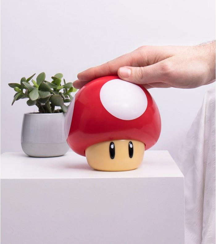 NINTENDO - Veilleuse Sonore - Mushroom - 12cm