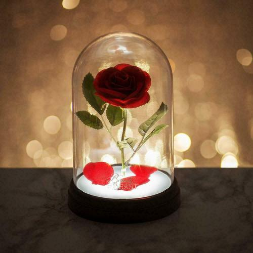 DISNEY - Lampe Rose Enchantée