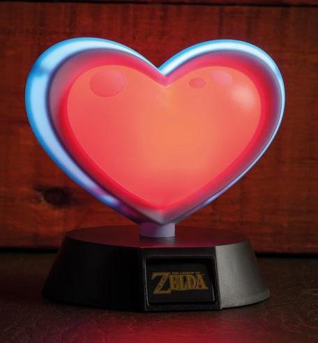 ZELDA - Heart Container 3D Mini Light - 10cm