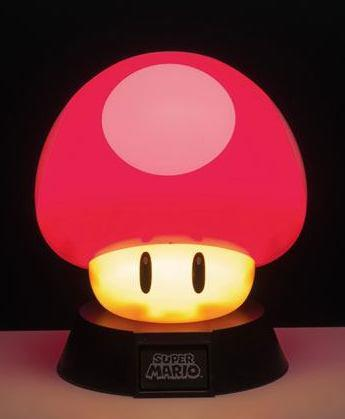 NINTENDO - Mushroom 3D Mini Light - 10cm