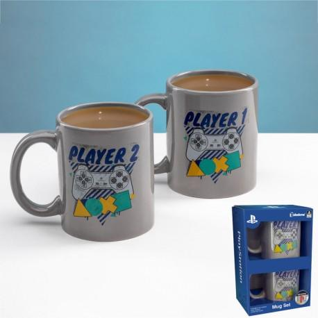 PLAYSTATION - Mugs Assortiment Player One / Player Two