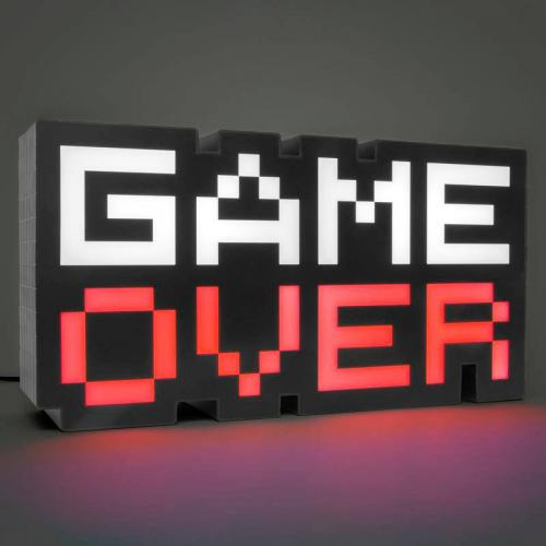 PALADONE - Veilleuse Sonore - Game Over 8-BIT - 30cm