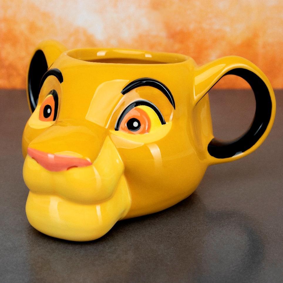 DISNEY - Mug 3D - Le Roi Lion - Simba_1