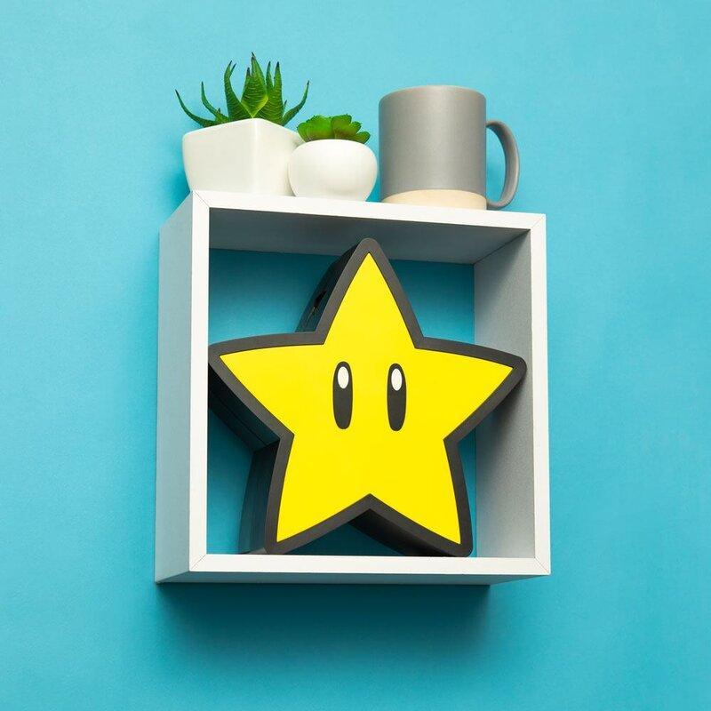 SUPER MARIO - Super Star - Lampe décorative USB_1