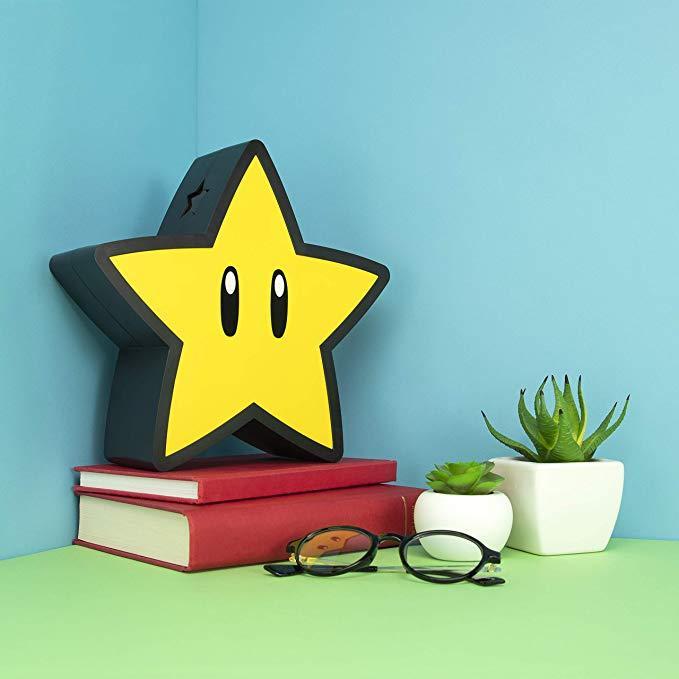 SUPER MARIO - Super Star - Lampe décorative USB_2