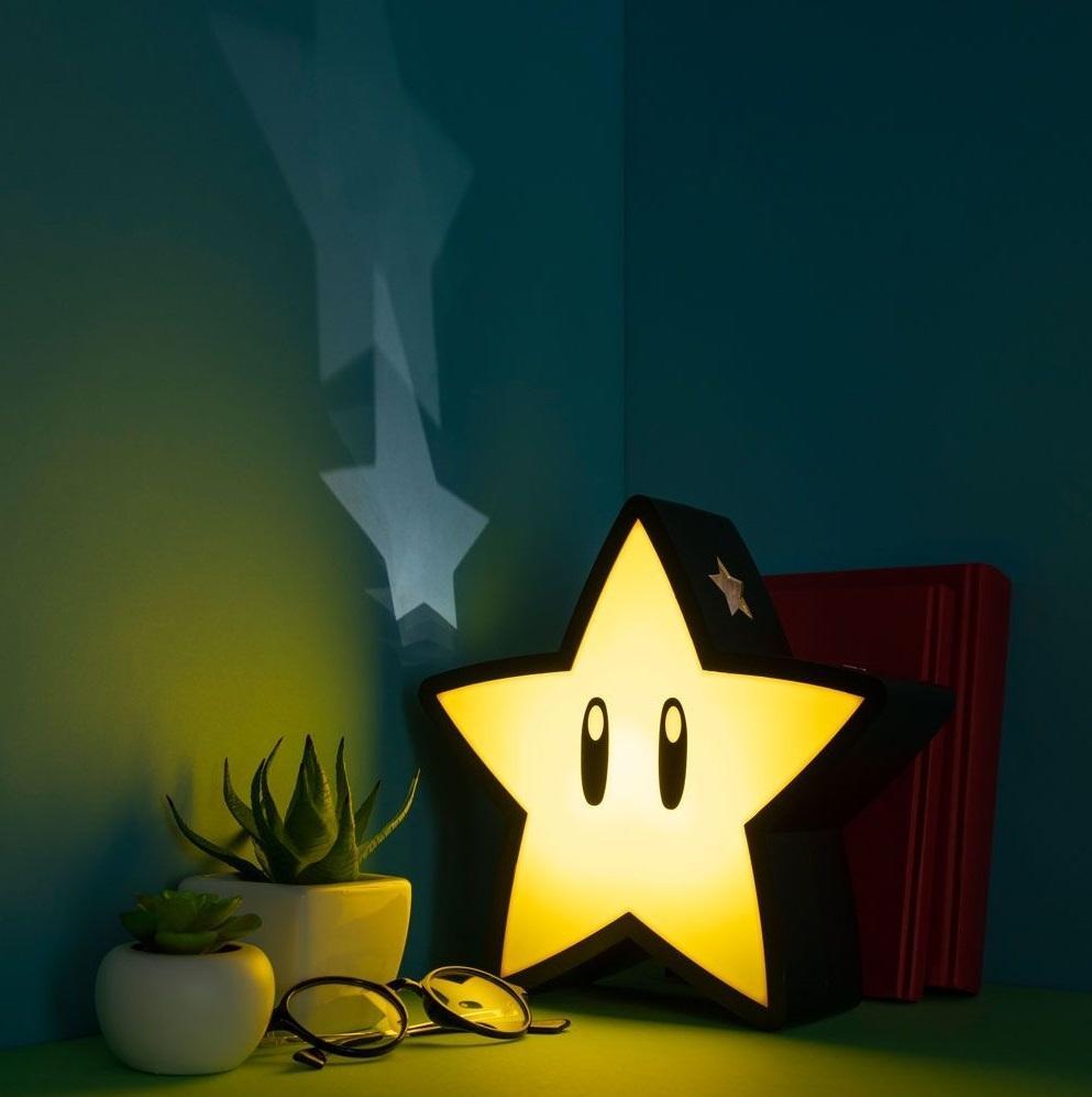 SUPER MARIO - Super Star - Lampe décorative USB_3