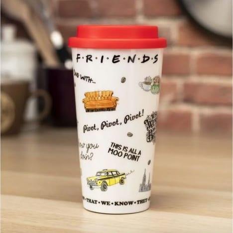 FRIENDS - Central Perk - Mug de voyage 400ml