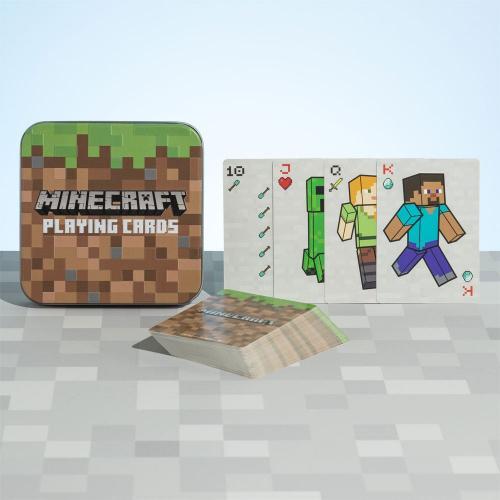 MINECRAFT - Joueurs - Jeu de cartes à jouer