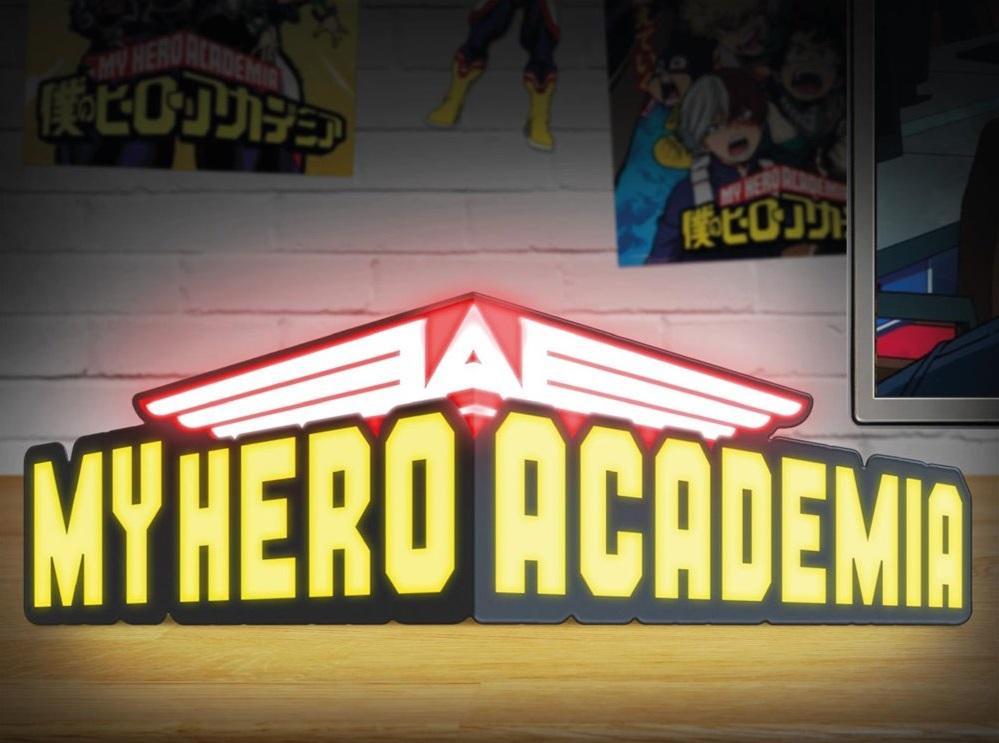 MY HERO ACADEMIA - Logo - Lampe décorative_1