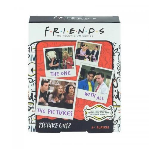 FRIENDS - Jeu de société Picture Quiz 'VERSION UK'