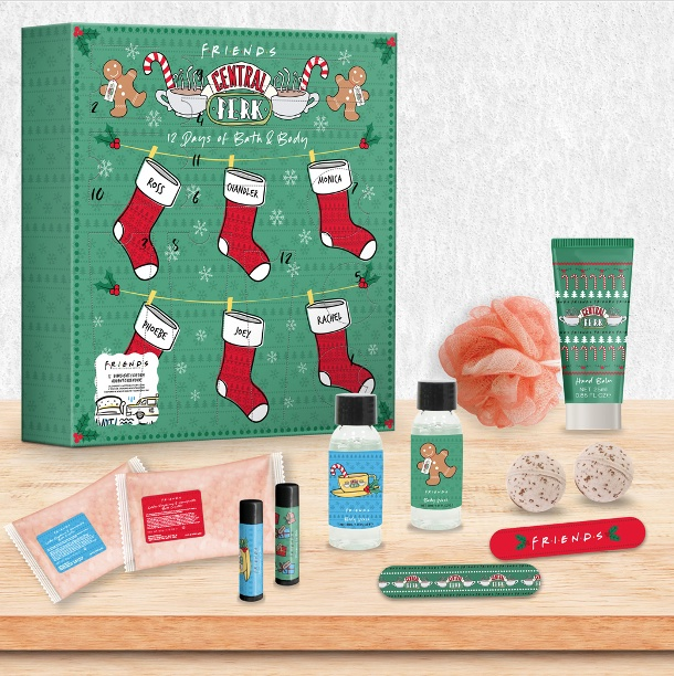 ShopForGeek | FRIENDS   Calendrier de l'avent 12 Days of Bath