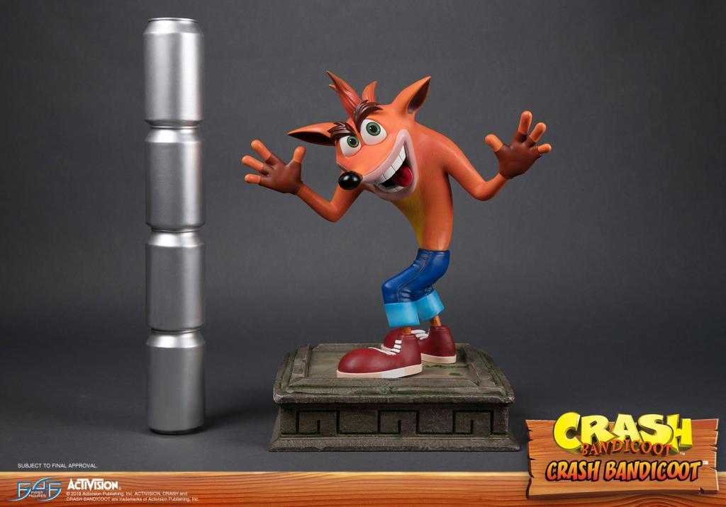 CRASH BANDICOOT - Crash Bandicoot Statue - 41cm_2