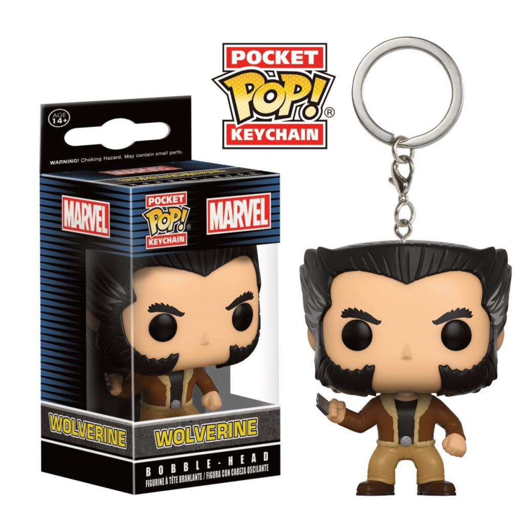 Pocket Pop Keychains : X-Men - Logan