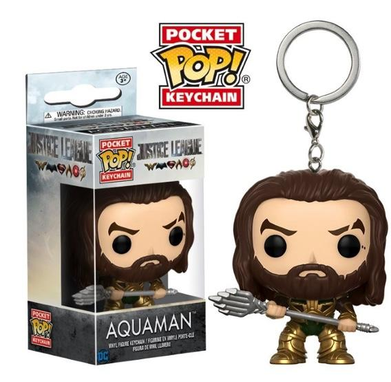 Pocket Pop Keychains : Justice League - Aquaman