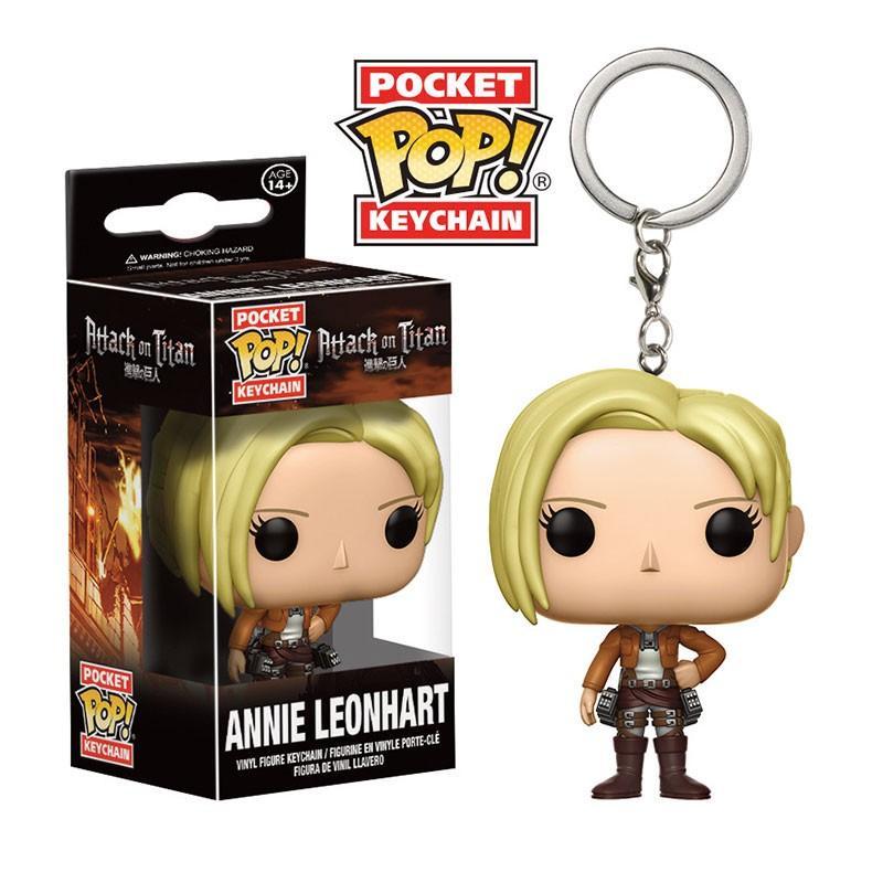 Pocket Pop Keychains : Attack on Titan - Annie Leonhart