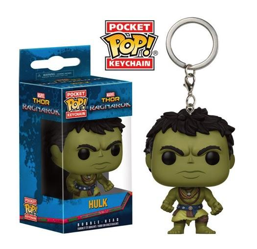 Pocket Pop Keychains : Thor Ragnarok - Casual Hulk