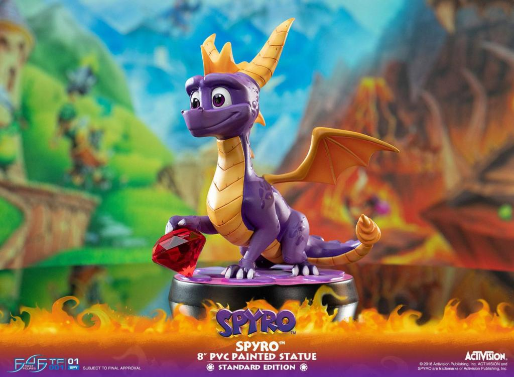 ACTIVISION - Spyro The Dragon PVC Statue - 20cm_2