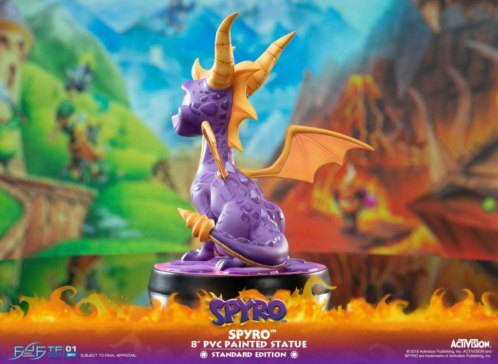 ACTIVISION - Spyro The Dragon PVC Statue - 20cm_3