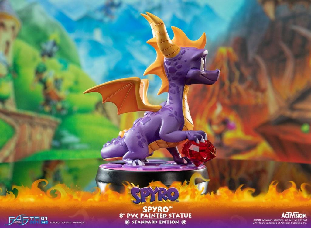 ACTIVISION - Spyro The Dragon PVC Statue - 20cm_4