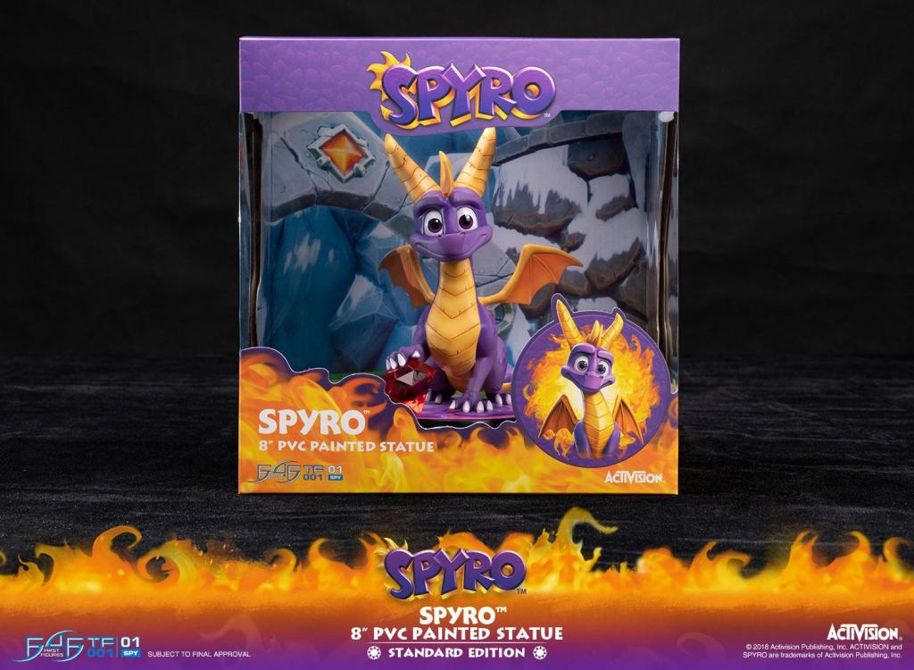 ACTIVISION - Spyro The Dragon PVC Statue - 20cm_5